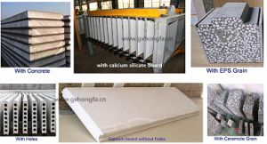 Automatic Sanwich Panel Production Line/EPS Wall Board Making Machine pictures & photos