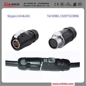 Lp-20 IP67 Power Connector with 7pins for LED Screen and Indusrial Equipment pictures & photos