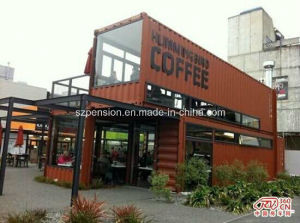 Newest Portable Conenvient Mobile Prefabricated/Prefab Coffee House/Bar pictures & photos