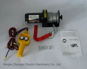 4WD off-Road Winch Power Winch (2000LB) pictures & photos