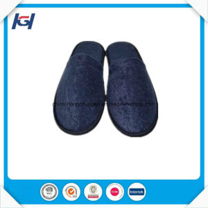 Cheap Wholesale Disposable EVA Sole Terry SPA Slippers pictures & photos