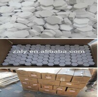Alumina Wear Tile / Hexagonal Alumina Ceramic Tile & Small Tile pictures & photos