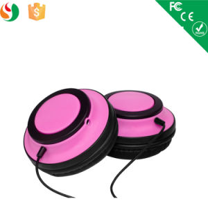 Stylish Cat Ear Glowing LED Light Stereo Wired Headset Headphone pictures & photos