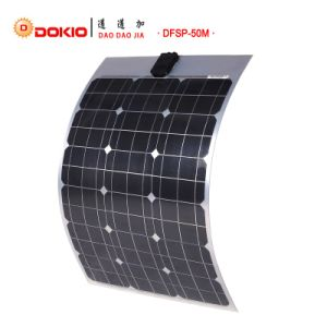 Semi Flexible Solar Panel 50W Mono pictures & photos