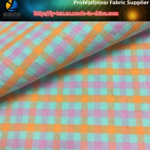 Nylon Yarn-Dyed Weft Spandex Fabric with Anti-Microbial for Garment pictures & photos