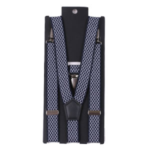 Classic Design Polyester Fabric High Quality Men′s Suspender pictures & photos