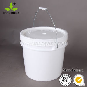 13L Plastic Bucket with Lid Food Bucket Made in China Wholesale pictures & photos