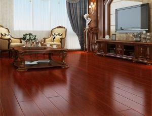 High Gloss Multi-Layer Solid Wood Flooring for Living Room pictures & photos