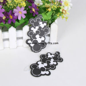 New Style Eco-Friendly Hanging Car Papercar Air Freshener (YH-AF236) pictures & photos