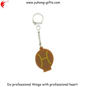 Eco-Friendly High Quality Custom Rubber Keychains for Gifts (YH-KC164) pictures & photos