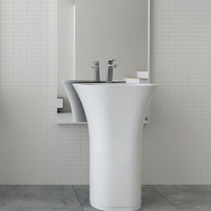 New Modern Solid Surface Freestanding Basin(Pb2024 pictures & photos
