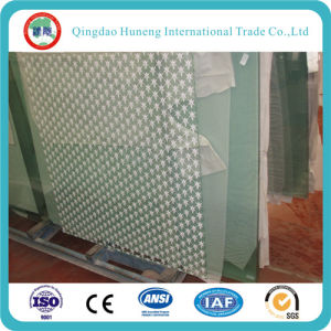 Safety Glass Silk Tempered Glass for Buildings pictures & photos