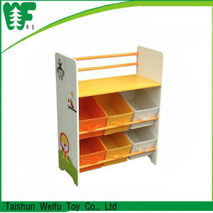 Multi-Function Book Shelf and Toy Storage pictures & photos