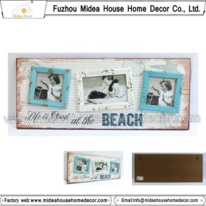 Beach Decorate Wooden Picture Frame