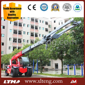 Ltma 10t Telescopic Boom Forklift Telehandler for Sale pictures & photos