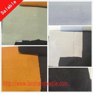 Plain Dyed Rayon Polyester CVC Fabric for Coat Bag Sofa pictures & photos