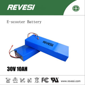 36V 10ah Lithium Rechargeable Battery for 2 Wheel Electric Scooter pictures & photos