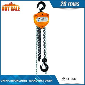 Vital Chain Pulley Block Lifting Hoist Hand Winch pictures & photos