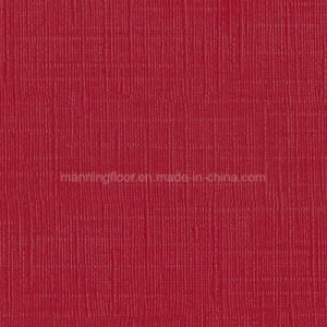 Red 4.5mm Ce PVC Sports Flooring for Badminton Table Tennis Grid Pattern pictures & photos