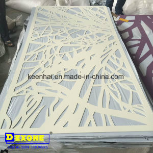 Decorative Aluminum Laser Cut Facade Panels Design for Modern Building pictures & photos