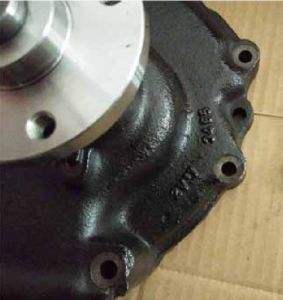 Truck Spare Parts-Water Pump for J08c (16100-3467) pictures & photos