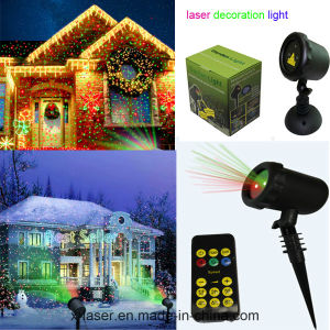 Red and Green Static Firefly Outdoor Christmas Elf Laser Light pictures & photos