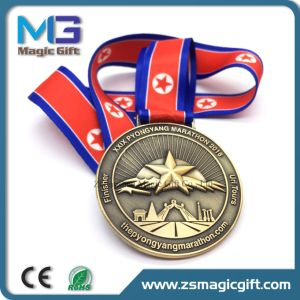 China Medal Factory Maker Customized Challenge Medal with Bronze Plating pictures & photos