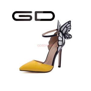 Cheap Price New Design Ladies Summer High Heel Sandals pictures & photos