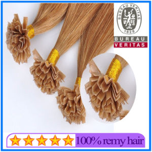 V-Tip Hair Extension 100% Remy Indian Chinese Malaysian Virgin Straight V Tip Hair Extension pictures & photos