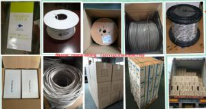 600MHz STP Cat7 4X2X23AWG/Cable Network/ Communication Cable/ UTP Cable/ Computer Cable pictures & photos