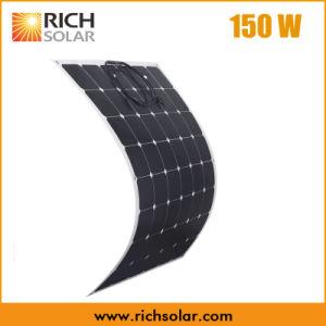 150W Semi Mono Flexible Solar Panel for Home Use