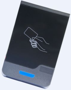 Touch Screen Keypad 125kHz Em-ID Smart Card Access Control RFID Reader pictures & photos