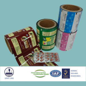 Moisture-Resistant Composite Film for Pharmaceutical Packaging Alloy 1235-O Standardized pictures & photos