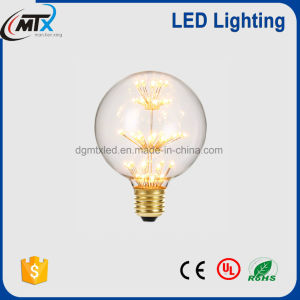 Popular seller LED bulb in 3D fireworks shape A60 G80 95 G125 pictures & photos