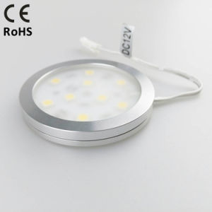 DC12V 2.2W Ultrathin Aluminum 60mm LED Puck Light for Home Decoration pictures & photos