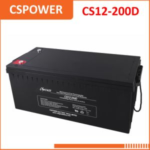 Good Price 12V200ah Solar/Sealed Lead Acid/UPS Battery CS12-200d pictures & photos