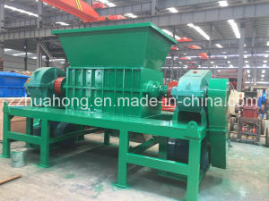 Waste Plastic Cutting Machine, Old Carpet/Car Tire/Waste Metal Recycling Shredder Machine pictures & photos