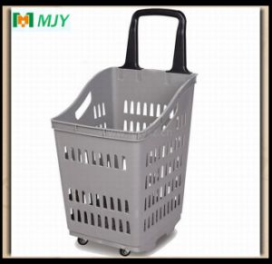Supermarket Roll Shopping Basket Mjy-Tr13 pictures & photos