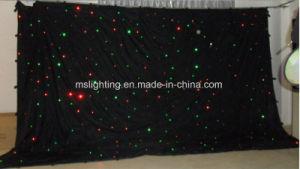4m*6m Tricolor LED RGB Le Star Curtain/LED Star Cloth/Black Cloth pictures & photos