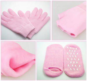Moisturize Gloves SPA Gel Gloves Gel Socks pictures & photos