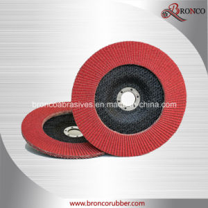 Ceramic Flap Disc with Fiberglass Backing pictures & photos