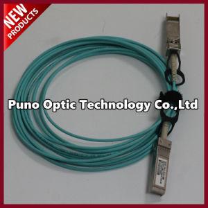 10 Foot MPO to MPO Fiber Optic Cable 8 Aqua Trunk OFNR Plenum Cable Polarity B pictures & photos