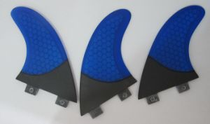 Red Colour Glassfiber Honeycomb Surf Fin for Sale pictures & photos