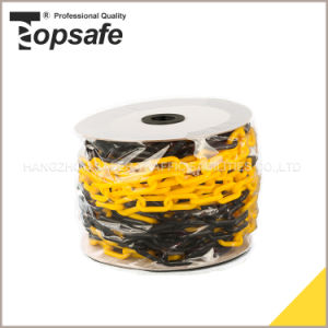 6mm Yellow Black Plastic Warning Chain pictures & photos