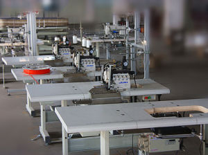 Mattress Heavy Duty Sewing Machine for Mattress Topper Overlock pictures & photos