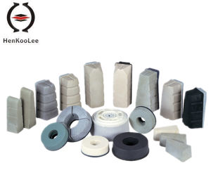 Abrasive for Supen-White and Black Magnesite Abrasive pictures & photos