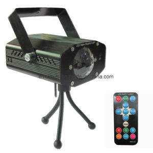 Mini LED Water Wave Effect Light RGB Moving Beam Water Ripples Light for DJ Disco with Remote Control pictures & photos