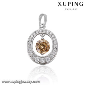 31699 Fashion Round Cubic Zirconia Jewelry Pendant for Mother′s Day pictures & photos