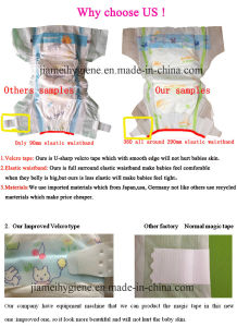 Disposable S Shape Magci Tape Baby Diapers Premium Quality pictures & photos