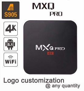Custom Made Smart Streaming Android5.1/6.0 Marshmallow TV Box S905/S905X Quad Core Mxqpro pictures & photos